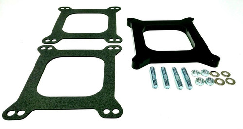"1/2"" Open Square Phenolic Carburetor Spacer, Holley Style"
