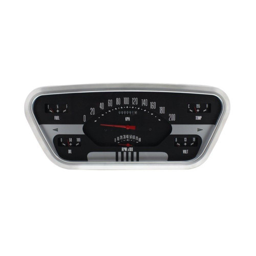 1953-55 Ford F-100 Guage Set ***Speedo In Kilometers***