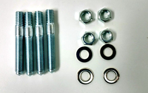 """1/2"""" Ported Phenolic Carburetor Spacer, Holley Style"""