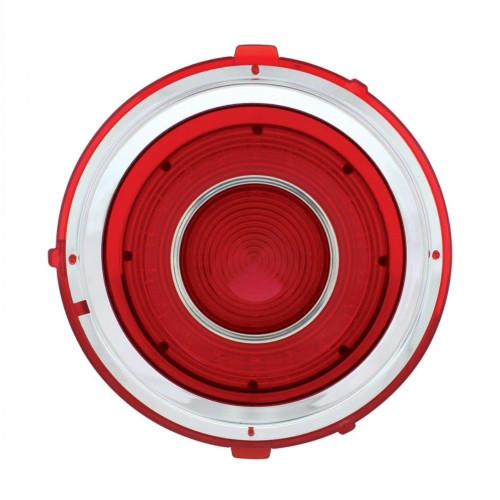 Tail Light Lens, Passenger/Right Side, Compatible with Chevy Camaro RS 1970-1973