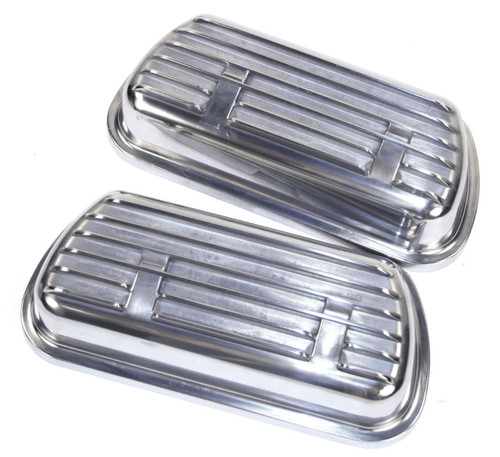 Empi 9138 VW Bug Buggy Sand Rail Clip-On Finned Aluminum Valve Covers W/Gaskets