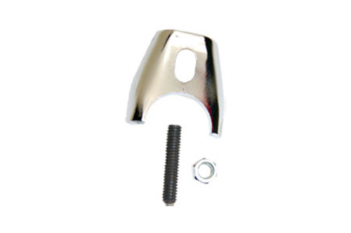 Chrome Distributor Hold Down Clamp Comp Style, Fits Ford FE 352-428 V8