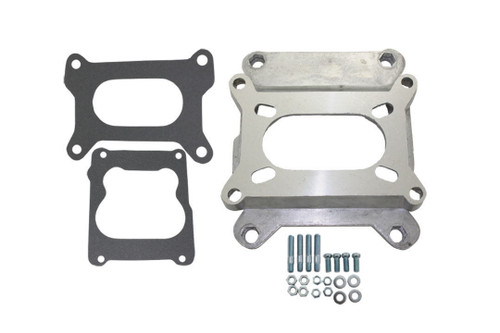 "1-1/8"" Carb Carburetor Adapter Holley Rochester 2BBL to 4BBL Quadrajet 4  Barrel"