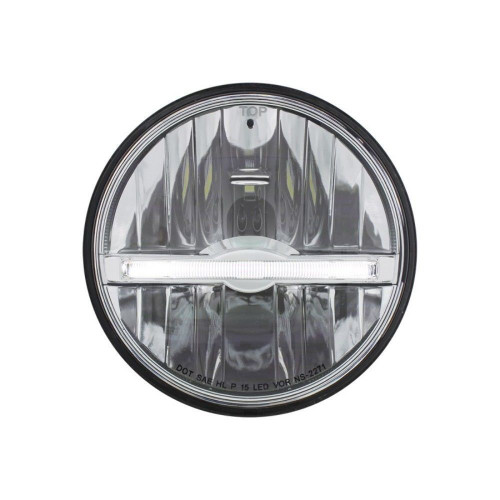 "(1) 5 3/4"" LED Headlight with LED Position Light Bar"