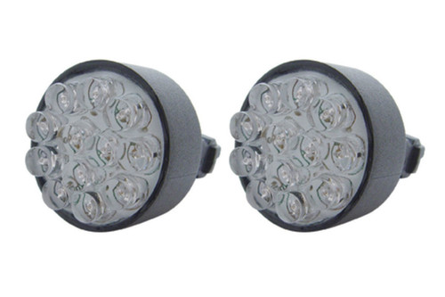 (2) 12 LED 3157 Bulb - Red - Wedge Base - Epoxy Sealed