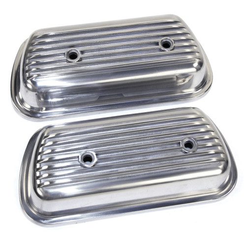 EMPI 9152 VW AIR COOLED BUG GHIA  ALUMINUM BOLT ON VALVE COVERS,PAIR W/GASKETS