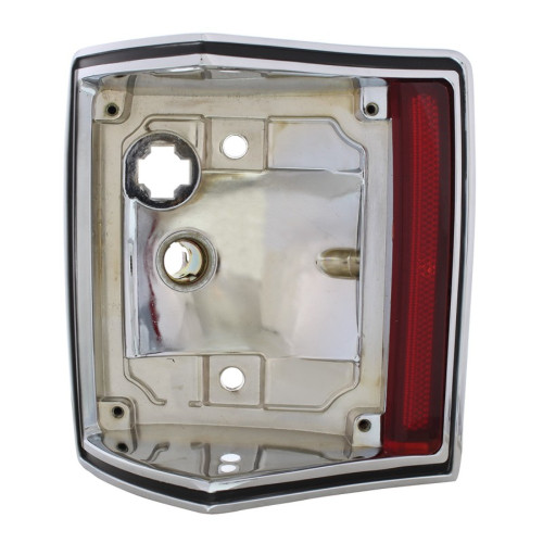 1970-72 El Camino & Station Wagon Chrome Tail Light Housing - Left / Driver Side
