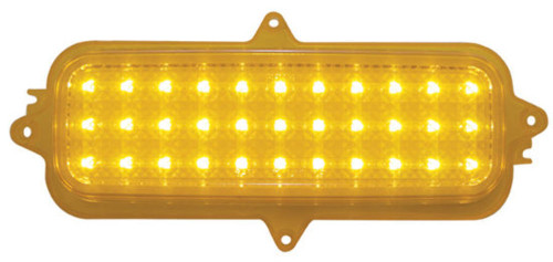 1960 -1966 Chevy Truck LED Parking Light, Amber Lens, EA