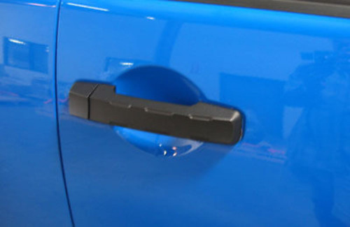 Pirate Mfg TU0003SB 2007-12 Tundra Crew Max Black Billet Rear Door Handle Covers