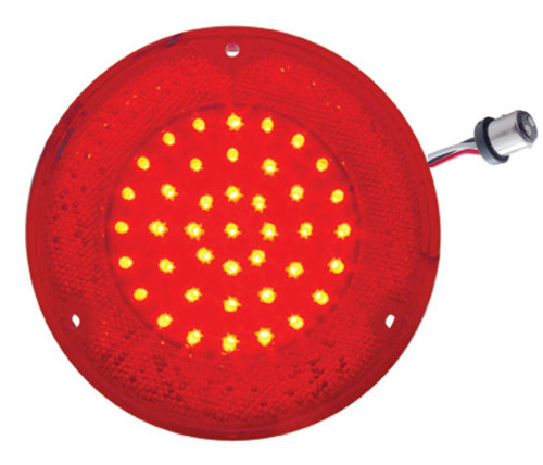 1967- 1972 Chevy Truck LED Tail Light, Red- Stepside