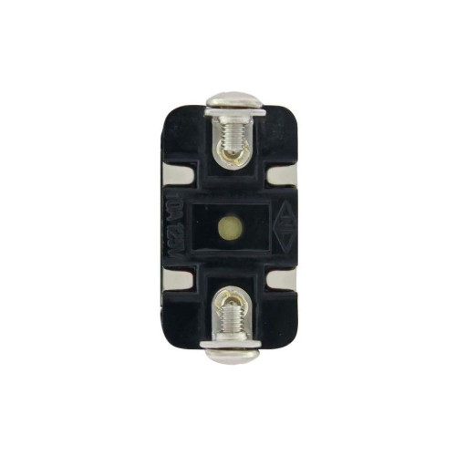 2 Pin, 10 Amp - 12 Volts D.C. On -Off Metal Toggle Switch w/ 2 Screw Terminals