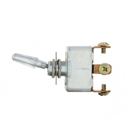 Chrome Handle 3 Pin 50 Amp On-Off On Heavy Duty Toggle Switch Hi Amp