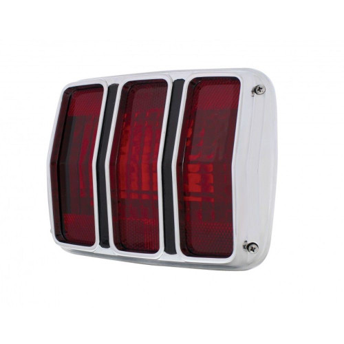 1964 1965 1966 Mustang Tail Light Assembly w/ Bezel And Housing 64 65 66
