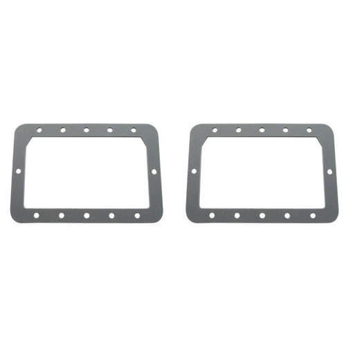 1967-68 Mustang Tail Light Lens - Gray Foam, Pair
