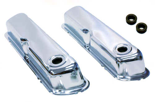 SMALL BLOCK FORD CHROME VALVE COVERS 289 302 351W