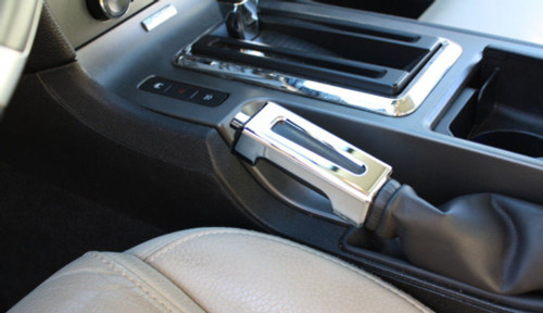 Chrome Billet E-Brake Handle, Fits Ford 2010-2014 Mustang