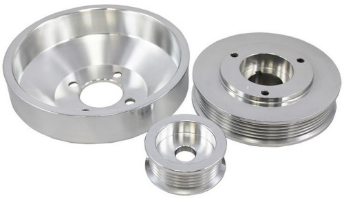 1996-1998 Ford Mustang 4.6L GT 96-99 Cobra Polished Aluminum Serpentine Pulley S