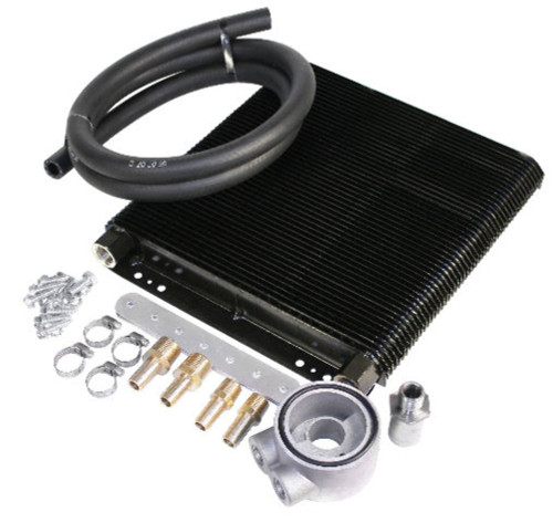 Oil Cooler Kit, 96 Plate, Competition, Fits VW Bug Type 4 Sand Rail Rabbit/Jetta, EMPI 9218