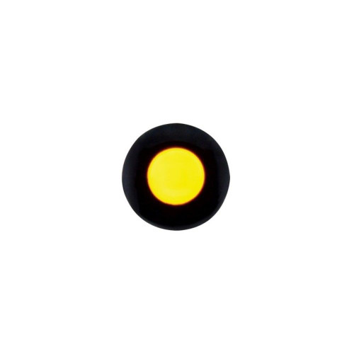 """1 LED Snap-In Indicator Light - 1/4"""" - Amber"""
