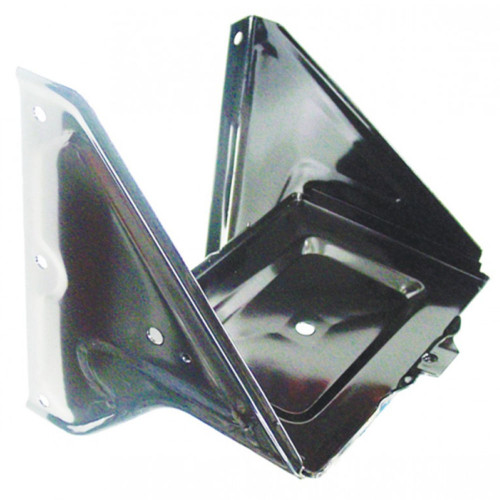 1967-72 CHEVY & GMC TRUCK BATTERY TRAY, BLACK POWDER COAT