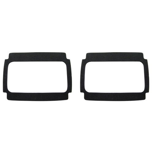 1964 1965 1966 Ford Mustang Tail Light Lens Gasket - Black Foam - 64 65 66