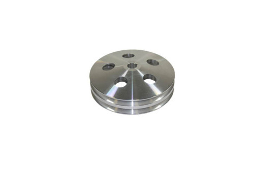 GM & Chevy 67-84 Machined Aluminum Double Groove Power Steering Pulley