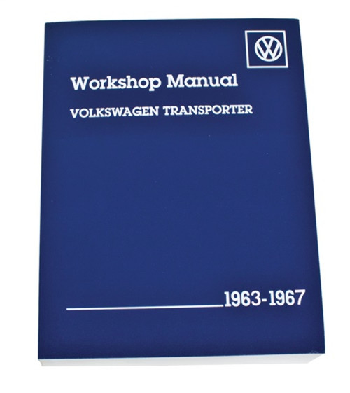 11-0987-0 VW BENTLEY TECH BOOK, 63-67, TYPE 2
