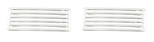 00-6425-0 CHROME 2 PC LID GRILLES
