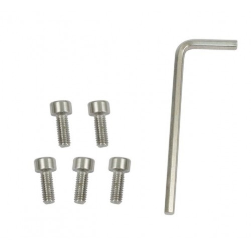 00-9698-0 STAINLESS STEEL BOLTS FOR ALL EMPI BOLT-ON CAPS, SET OF 5