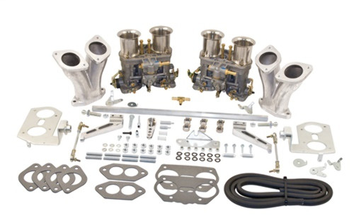 43-6319-0 EMPI DUAL 44 IDF CARB KIT, HEX BAR LINKAGE, TYPE 1, W/O AIR CLEANERS