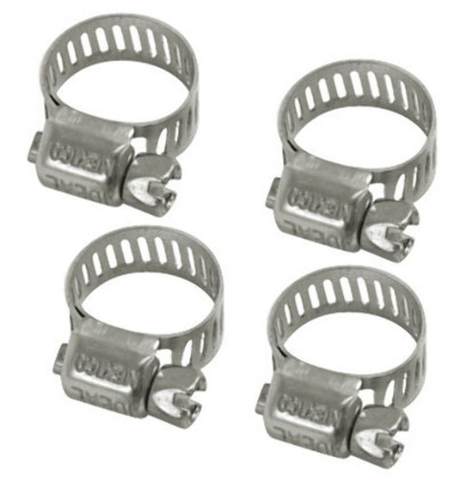 EMPI  VW Bug Buggy Hose Clamp 1/4-5/16 Fuel Line Clamps  ,Pack Of 4,  9224