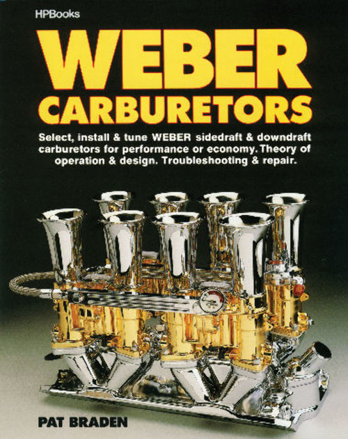 "EMPI VW BUG HP BOOK'S ""WEBER CARBURETORS""  HOW TO BOOK   11-1050"
