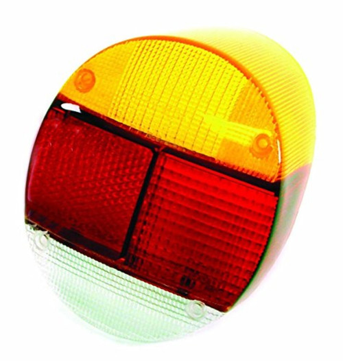 EMPI Tail Light Lens, Right Rear, Euro Style, 1973-79 VW Bug, Sold Each 98-1066