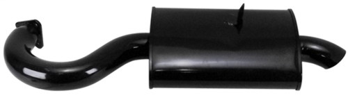 00-3701-0 PHAT BOY MERGED MUFFLER FOR EMPI 3699 MERGED EXHAUST, BLACK