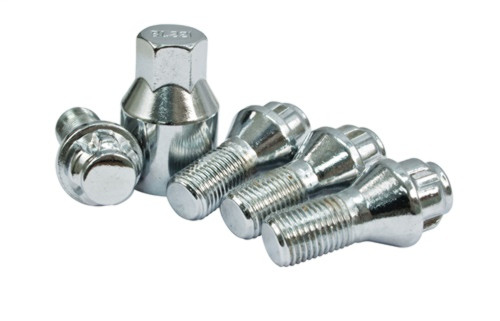 14mm-1.5, 60 degree, Wheel Lock Bolt, 23mm thread, 4 piece -VW Bug EMPI 70-2707
