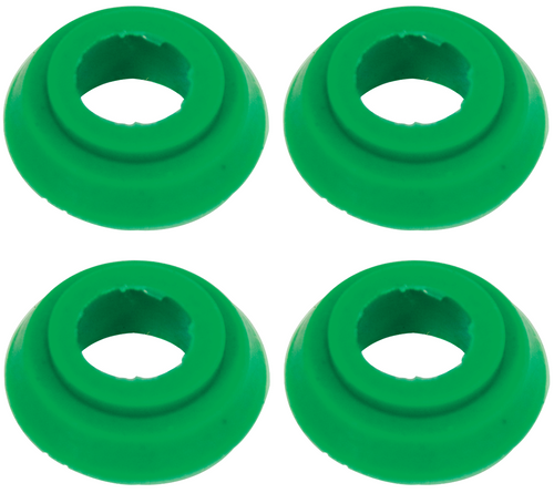 Oil Cooler Seals, 8/10mm, Early, 4 Pack, Fits VW Bug Bus Ghia Sand Rail Dune Buggy, EMPI 9255