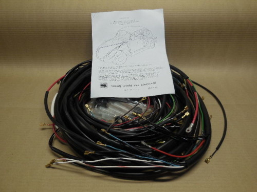 1958-59 VW ALL Convertible Beetle COMPLTE Wiring Works Wire Harness Kit -USA MAD