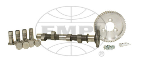 """EMPI VW BUG PERFORMANCE CAM 125 KIT,.430"""" LIFT WITH 21-4304 LIFTERS AND GEAR"""