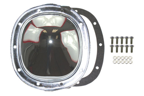 Chrome Steel Chevy GM 10 Bolt Differential Cover For 7.5 7.6 8.5 8.6 Ring Gear