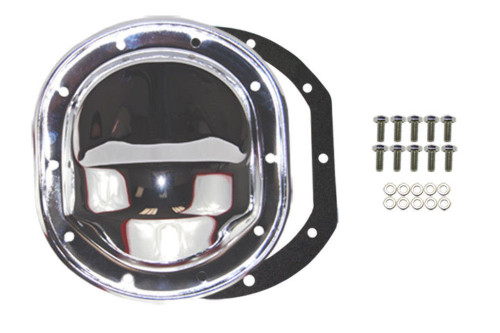 """Chrome Differential Cover, Compatible with Ford 7.5"""" RG Ranger Bronco II 79-03 Mustang"""