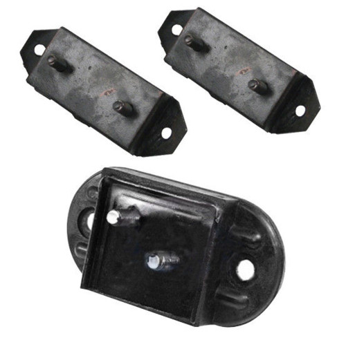 TRANSMISSION MOUNT KIT, 3 PC,  1963-67 VW TYPE 2 BUS
