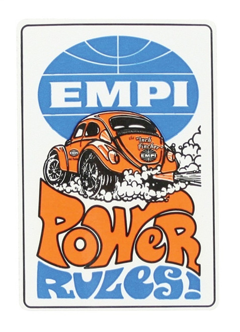 00-9816-0 DECAL POWER RULES (100)