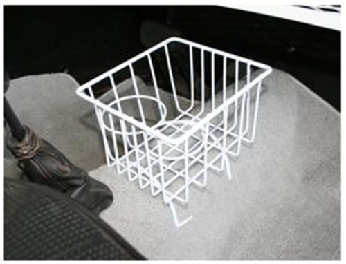 White Hump Cup Holder Basket Fits VW Type 1 & 3 Bug Super Beetle Ghia Thing