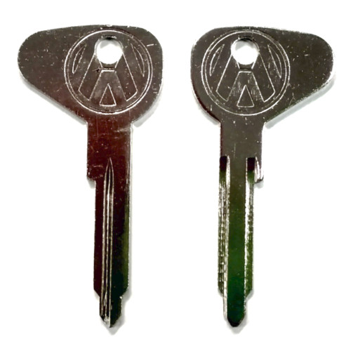 "(2) Key Blanks, Profile ""K"", Classic Air-Cooled VW Bug 1967 - 1970"