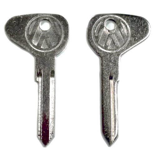 "(2) Key Blanks, Profile ""M"", Classic Air-Cooled VW Bug 1971 - 1979"