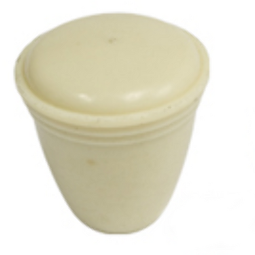 Dash Knob, Ivory, VW T-1  Bug To '66, Early Bus Fuel Reserve Cable 113 941 541