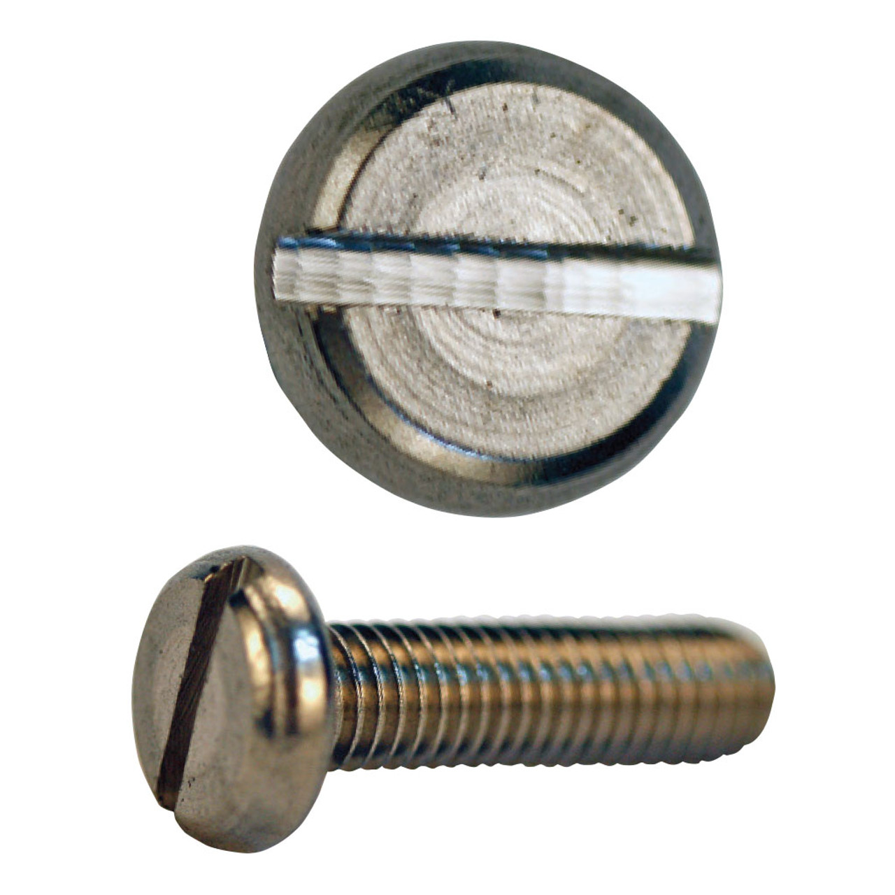 M3 X 8mm  A2 SLOTTED PAN HEAD STAINLESS STEEL SCREWS