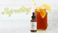 Refreshing Homemade CBD Lemon Iced Tea Recipe