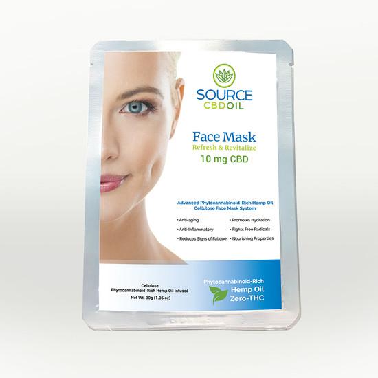 Organic CBD Facemask 10 mg