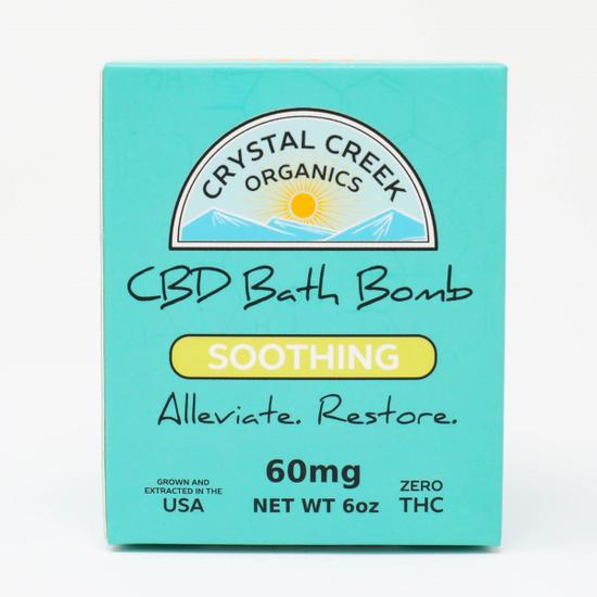 Soothing Full Spectrum CBD Bath Bomb